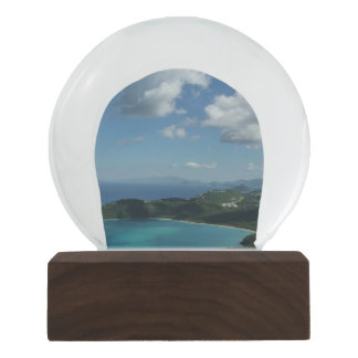 Magens Bay, St. Thomas Beautiful Island Scene Snow Globe