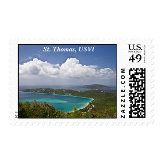 Magens Bay, St. Thomas Postage