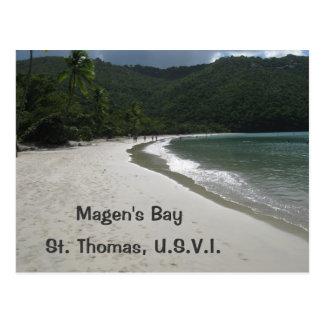 Magen's Bay, St. Thomas Post Card