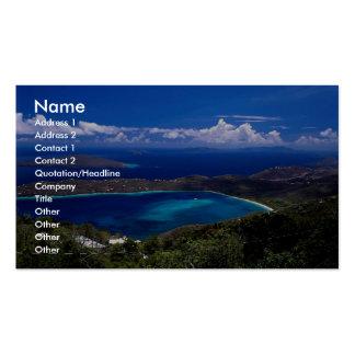 Magens Bay, St. Thomas, U.S. Virgin Islands Business Card