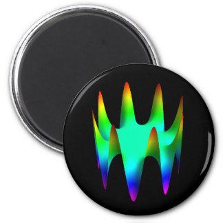 Magent: Zernike polynomial Z(8,8) 2 Inch Round Magnet