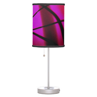 Magenta Abstract Modern Art Lampshade Table Lamps