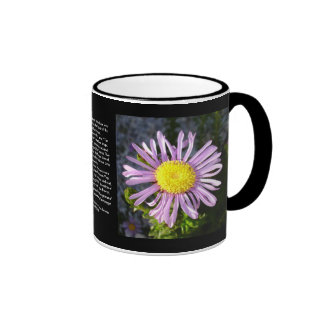 Magenta Aster - A Star of Love and Fidelity Mugs