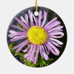 Magenta Aster - A Star of Love and Fidelity Christmas Tree Ornament