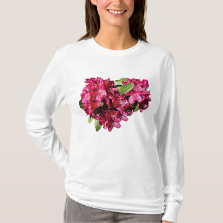Magenta Azaleas Ladies T-Shirt