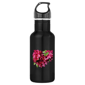 Magenta Azaleas Water Bottle