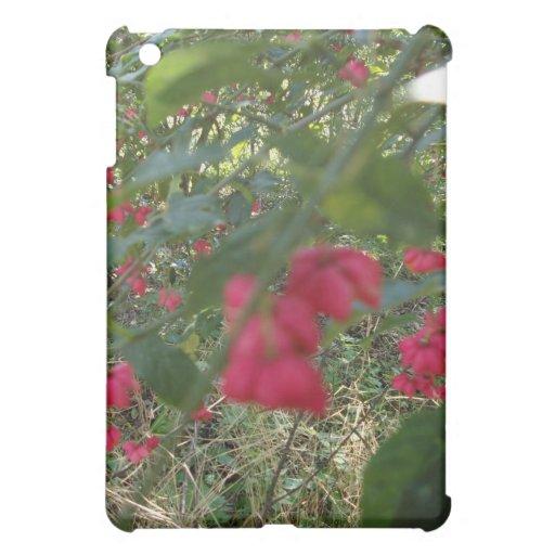 magenta berries iPad mini case
