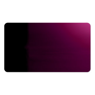 Magenta Black Unusual Visual Identifiers Biz Cards