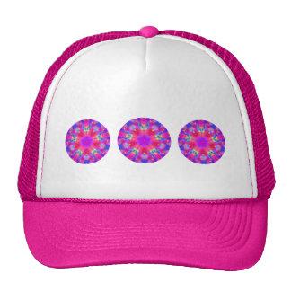 """""""Magenta & Blue Mandala"""" Trucker Hat"""