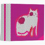 'magenta cat' digital painting Binder