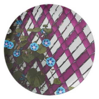 Magenta Chain-Link Plate