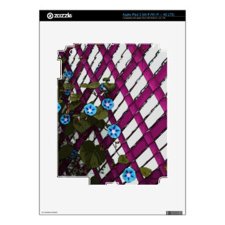 Magenta Chain-Link Skins For iPad 3