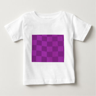 magenta checkered flag baby T-Shirt