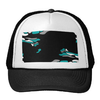 Magenta creativity trucker hat