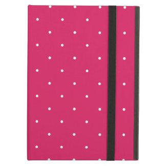 Magenta & Cyan Polka Dots iPad Air Cover