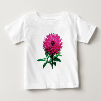 Magenta Dahlia Elsie Huston Infants Baby T-Shirt