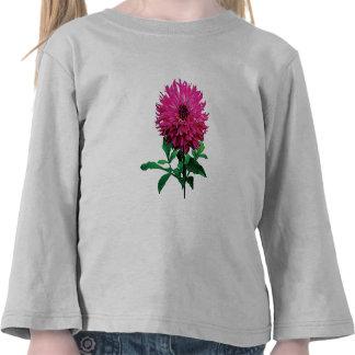 Magenta Dahlia Elsie Huston Kids Tee Shirts