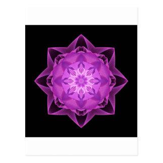 Magenta de Stardust del fractal Postales