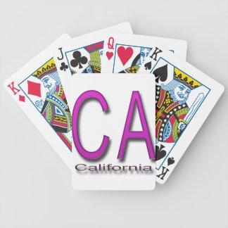 Magenta del tramposo baraja cartas de poker