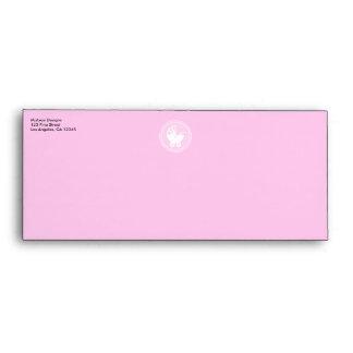 Magenta Diamond #10 Envelope