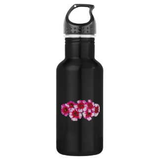 Magenta Dianthus Stainless Steel Water Bottle