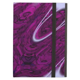 Magenta Disaster Abstract iPad Air Case