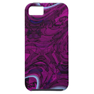 Magenta Disaster Abstract iPhone SE/5/5s Case