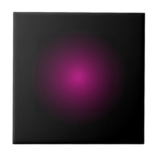 Magenta Drama Modern Urban Art Products Small Square Tile