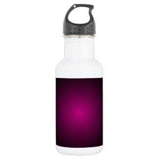 Magenta Drama Modern Urban Art Stainless Steel Water Bottle
