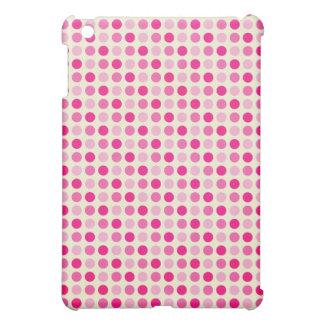 Magenta e iPad punteado rosas bebés del punto de l