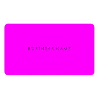 Magenta Elegant Business Card Template