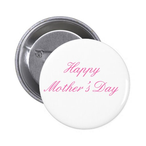 Magenta feliz del día de madre los regalos de Zazz Pins
