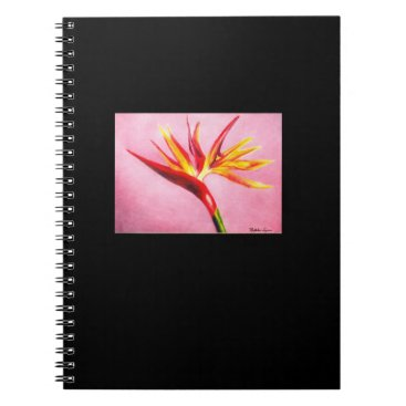 Magenta Flower Notebook