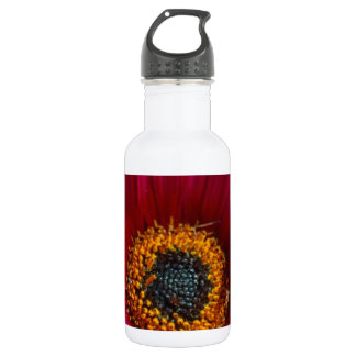 Magenta Flower Water Bottle