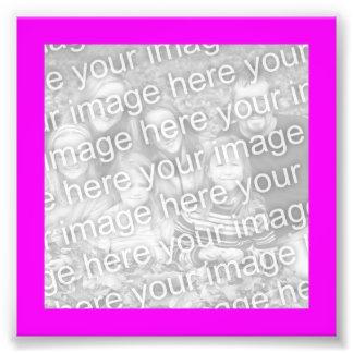 Magenta Frame Photo Photo