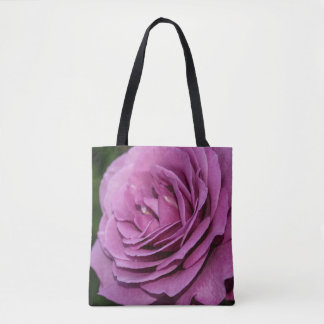 Magenta Garden Rose Tote Bag