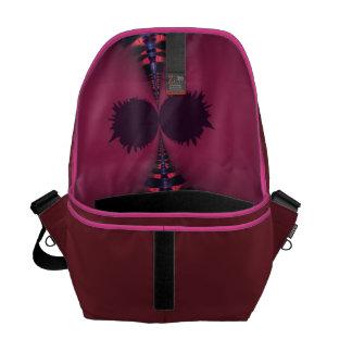 Magenta Ghost – Rose & Indigo Delight Messenger Bag
