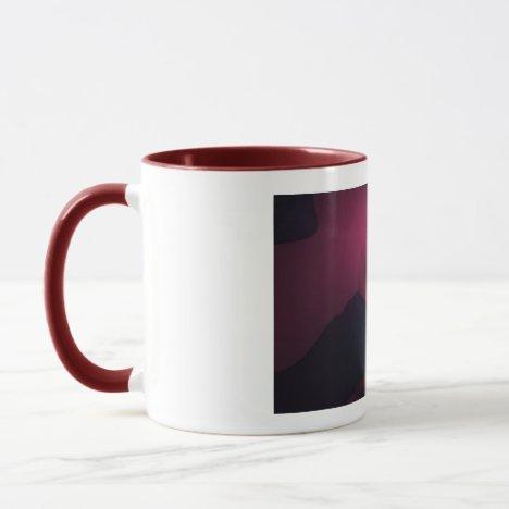 Magenta Ghost – Rose & Indigo Delight Mug