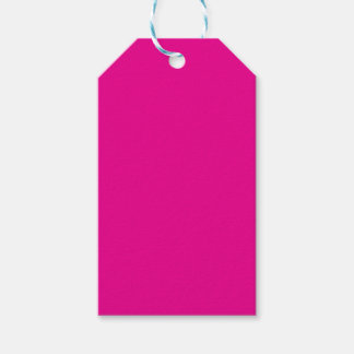 Magenta Pack Of Gift Tags