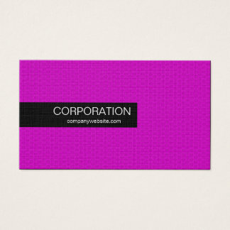 Magenta honeycomb unique standard business cards