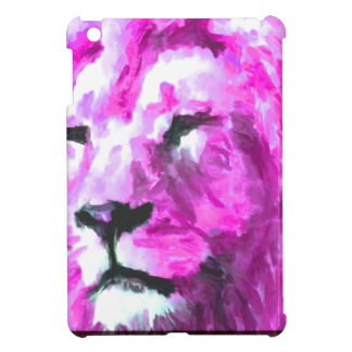 Magenta Lion iPad Mini Covers