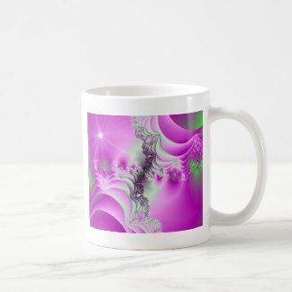 Magenta Majesty Fractal design Coffee Mug