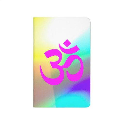 Magenta Om Symbol Journal