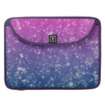 Magenta Ombre Glitter Sleeve For MacBook Pro
