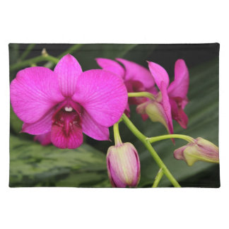 Magenta Orchid American MoJo Placemat