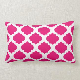 Magenta Ornate Pattern Pillows