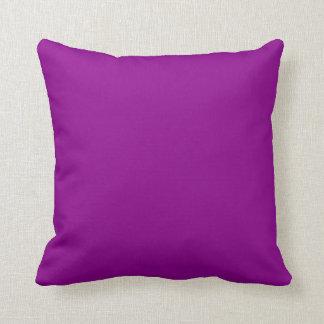 Magenta oscura almohadas