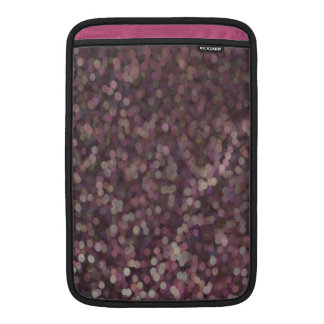 Magenta Painted Glitter Shimmer MacBook Sleeve