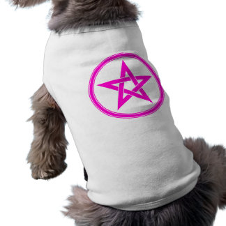 Magenta Pentacle Pentagram Shirt