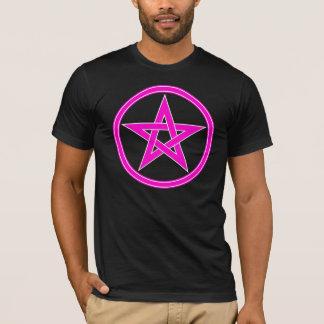 Magenta Pentacle Pentagram T-Shirt